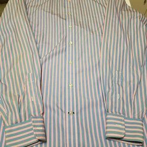 Lands End Mens Tall 15 1/2 36 dress shirt